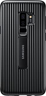 Samsung Galaxy S9+ Rugged Military Grade Protective Case with Kickstand, Black
