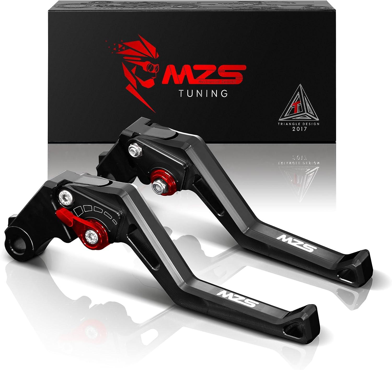MZS Max 72% OFF Clutch Max 77% OFF Brake Levers Short Square Adjustment CNC w Compatible