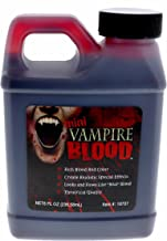 Vampire Blood, Theatrical Quality Fake Blood, 8 Ounce