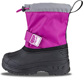 Insulated Snow Boots for Kids and Toddlers
