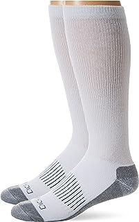 Dickies mens I21050 Light Comfort Compression Over-the-calf Socks, 2-pairs Socks