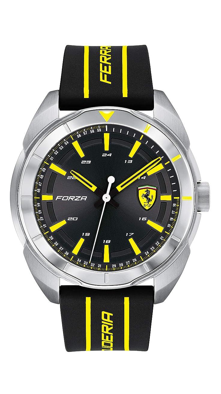 恐竜聴覚障害者誘惑する[スクーデリア フェラーリ ウォッチ] 腕時計 Forza 0830574 メンズ 正規輸入品 マルチカラー
