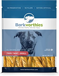 Barkworthies 4 Oz Tripe Twist, 1 Pack, Small