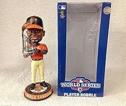 MLB San Francisco Giants Walgreens Sandoval P. #48 MVP 2012 World Series Champions Bobble, Orange