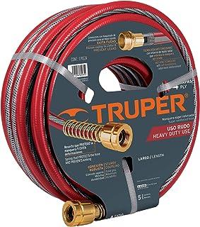 Truper MAN-20X5/8X, Manguera armada super reforzadas 4 capas