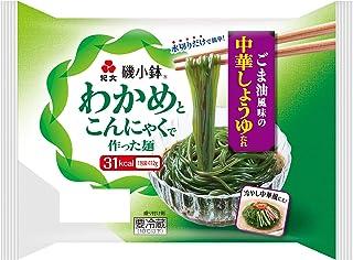 [冷蔵]わかめとこんにゃくで作った麺磯小鉢® ごま油風味の中華しょうゆタレ 100g+タレ付