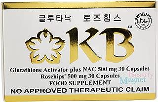 KB Kyusoku Bihaku Glutathione Skin Whitening Food Supplement