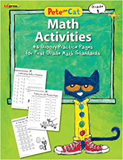 Teacher Created Resources EP-3514 Pete The Cat Math Workbook