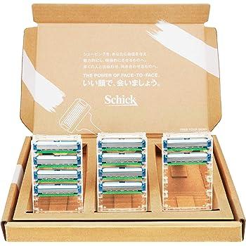 【Amazon.co.jp限定】 シック Schick プロテクター スリー 替刃(10コ入) 3枚刃 カミソリ 髭剃り セーフティワイヤー付