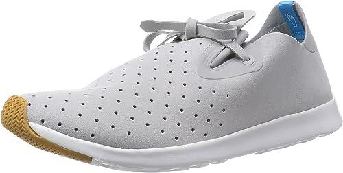 Native chaussures chaussures Apollo MOC Pigeon gris Shell blanc  meilleur service