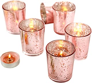 Best rose gold tea light candles Reviews