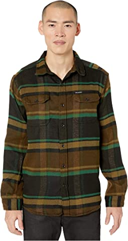 Olive Green Oversized Check