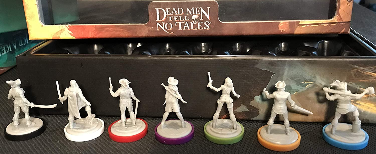 Low price Minion Games MIGDM102 Outstanding Dead Men Tales Tell No Miniatures Pack