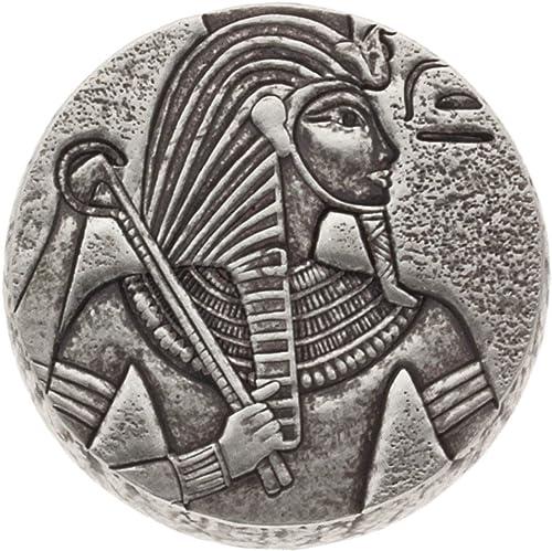 Scottsdale Mint Silbermünze Republik Tschad 2016 - Egyptian Relic Series - King TUT - 5 Unzen (5 oz) - Hersteller Box