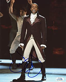 "Leslie Odom, Jr.""Hamilton"" AUTOGRAPH Signed 8x10 Photo E ACOA"