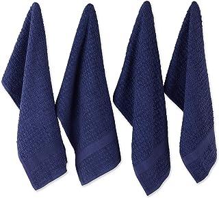 DII Dishtowel Set, Cotton, Blue, 15x26