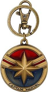 حلقه کلید Pewter Logo Marvel Captain Logo