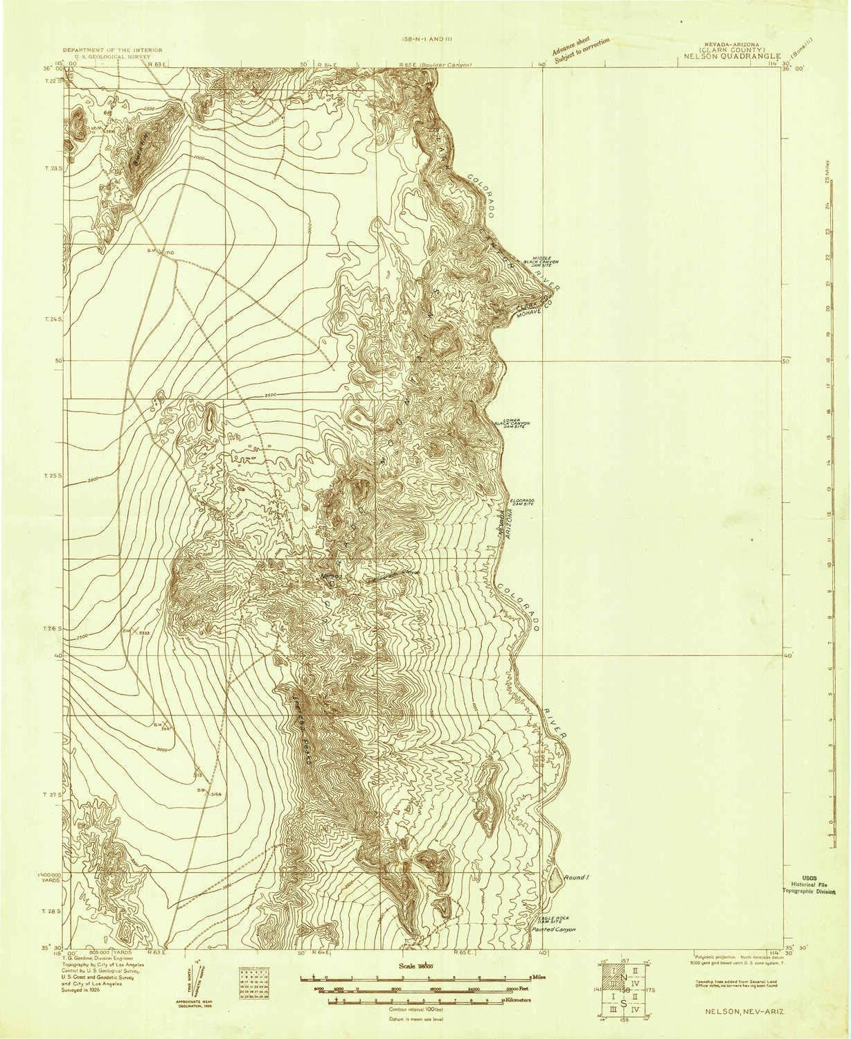 Nelson NV topo map 1:96000 Scale Spring new work 30 X Minute Historical Max 63% OFF 1