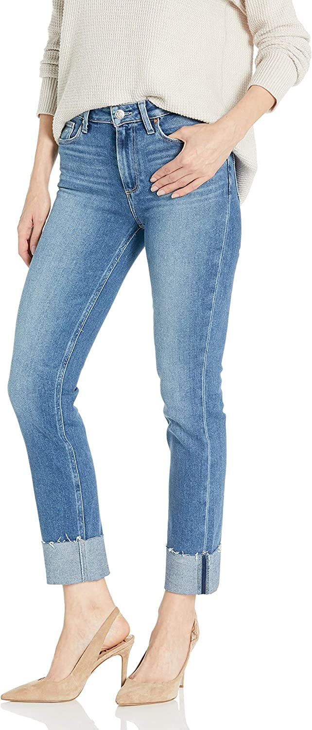 PAIGE Women's Cindy High Rise Slim Fit Flare Jean