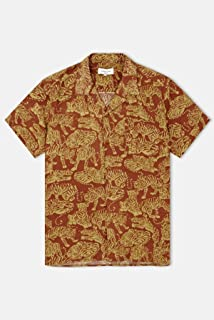 YMC Tiger Malick Short Sleeve Shirt