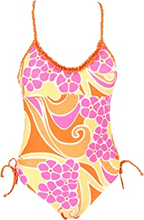 Point Conception Girls Ruffle One Piece Baby Cheetah