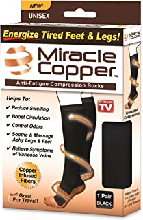 Miracle Copper Anti-Fatigue Compression Socks (Large/Extra Large)