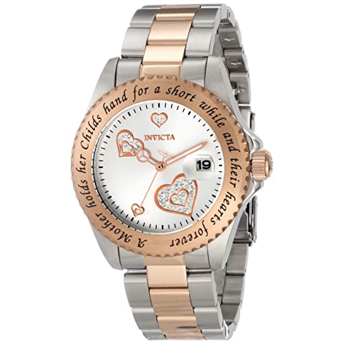 Invicta Womens 14731 Angel Analog Japanese-Quartz Two Tone Watch