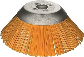 Lessmann Kegelborstel voor bosmaaiers ø 230 mm (verwijdert onkruid van grasterstenen/stoepranden etc, materiaal polyester,...