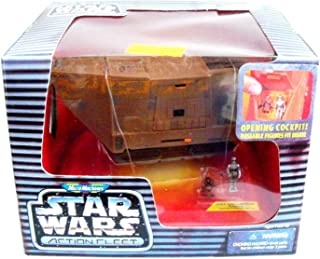 Star Wars Action Fleet: Micro Machines Jawa Sandcrawler Vehicle