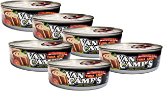 Van Camp's Tuna in Oil, 5 Ounce (Pack of 6), Ecuadorian Tuna