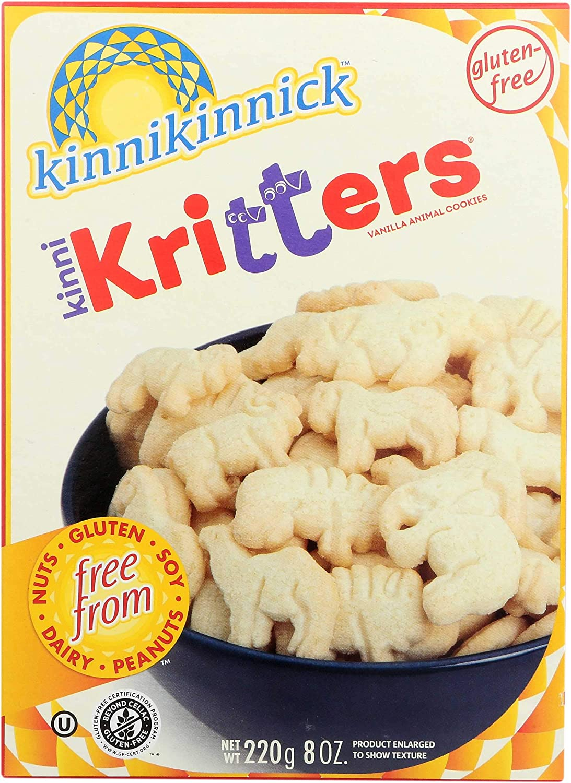 Kinnikinnick Spasm price Foods KinniKritters Animal Cookies 8 Ounce pe -- 6 4 years warranty