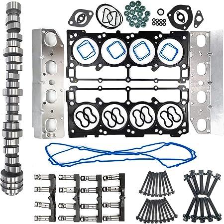 Non MDS Camshaft /& lifters Install Kit for DODGE Ram 5.7L Hemi 2009-2015 53021720AB L5701K-16 HB228