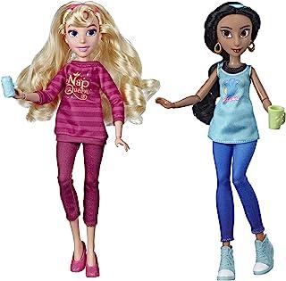 Disney Princess Ralph Breaks The Internet Movie Dolls, Jasmine & Aurora Dolls with Comfy Clothes & Accessories
