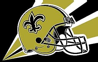 RongJ- store NFL 3x5 Feet Banner Champion Flag (New Orleans Saints)