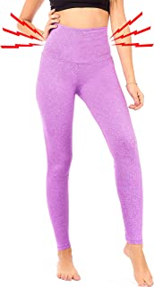 Thick High Waist Compression Slimming Leggings Postpartum Belly Band Pants Plus Size (S8)