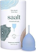 Copa menstrual Saalt - La copa más cómoda para el período - Copa n.º 1 - Suave, flexible y reutilizable - Silicona de grado médico - Fabricada en EE. UU.