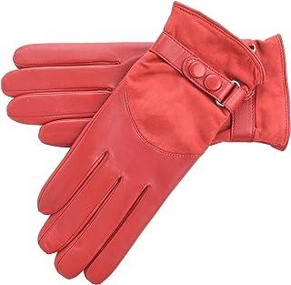Lambland Ladies Genuine Leather & Suede Gloves