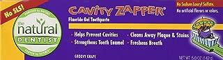 Natural Dentist Tpaste,Kids Cab Zap,Grape, 5oz 2pk