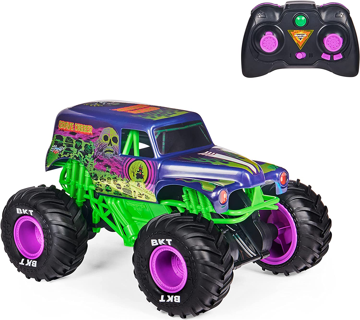 Monster Jam Grave Digger Freestyle Force - The Truck and the Controller