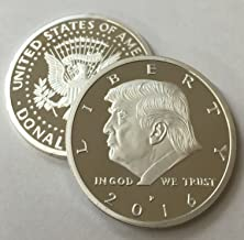 trump silver eagle coin