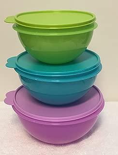 Tupperware 3 piece Original Wonderlier Bowl Set New 2015