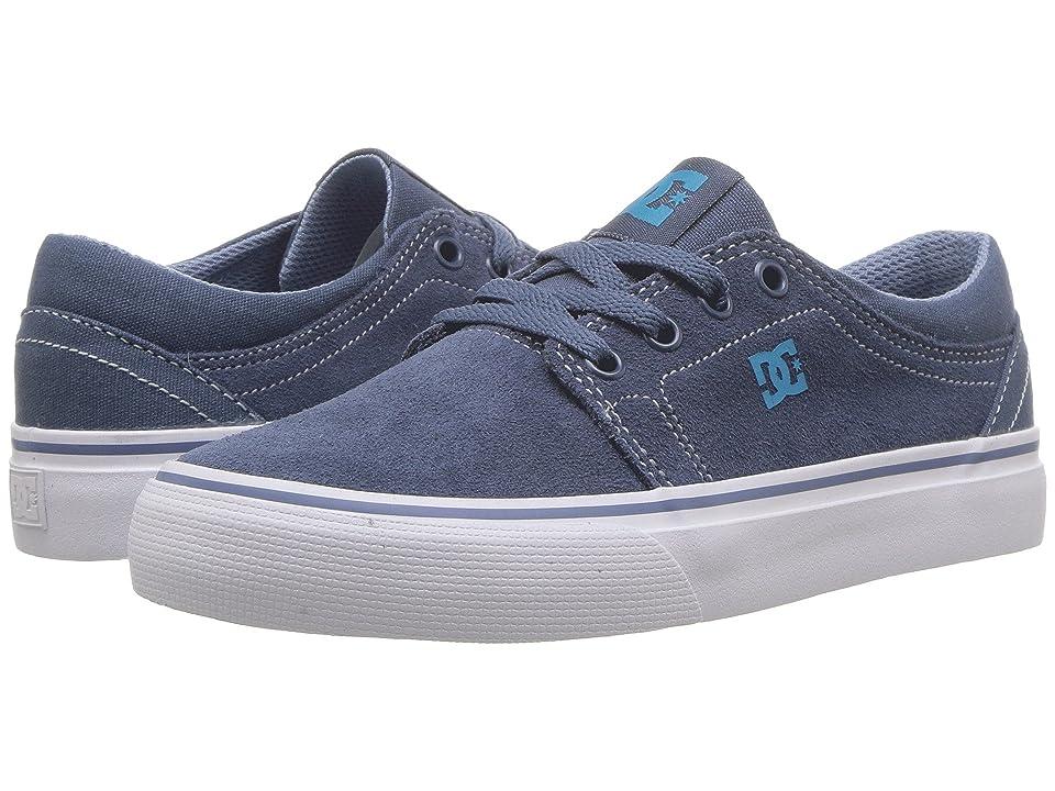 DC Kids Trase (Little Kid/Big Kid) (Blue/Blue/Blue) Boys Shoes