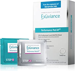 exuviance peel pads