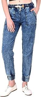 Fasnoya Women's Carrot Relaxed Fit Jeans