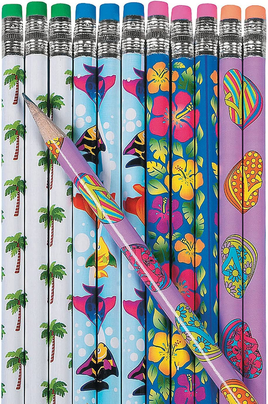 Fun Express - Tropical Pe Stationery Directly A surprise price is realized managed store Pencils 2dz