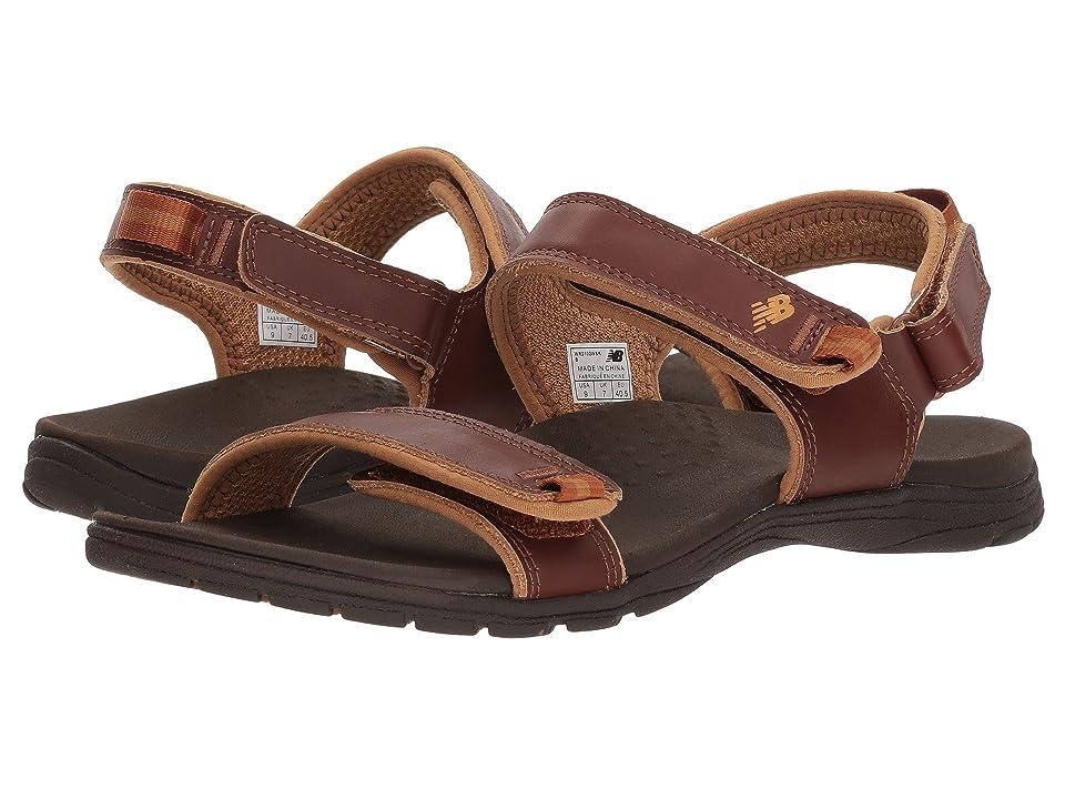 New Balance Traverse Leather Sandal (Whisky) Women