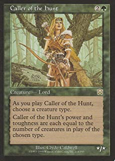 Caller of the Hunt (Magic the Gathering : Mercadian Masques #233 Rare)