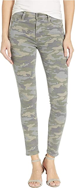 Barbara High-Waist Super Skinny in Surplus Camo