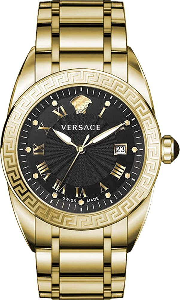 Versace orologio da uomo placcato oro swiss watch VFE160017