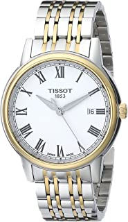 Tissot Men's T0854102201300 Carson Analog Display Swiss Quartz Two Tone Watch